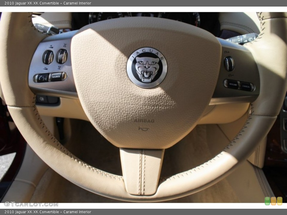 Caramel Interior Controls for the 2010 Jaguar XK XK Convertible #80622722
