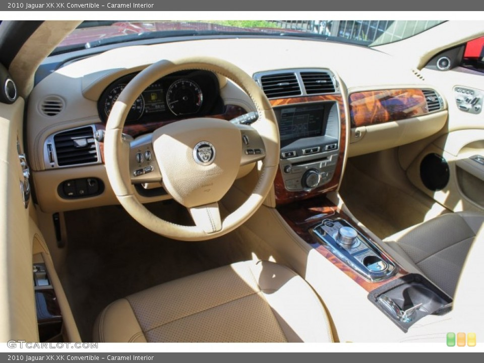 Caramel Interior Prime Interior for the 2010 Jaguar XK XK Convertible #80622750
