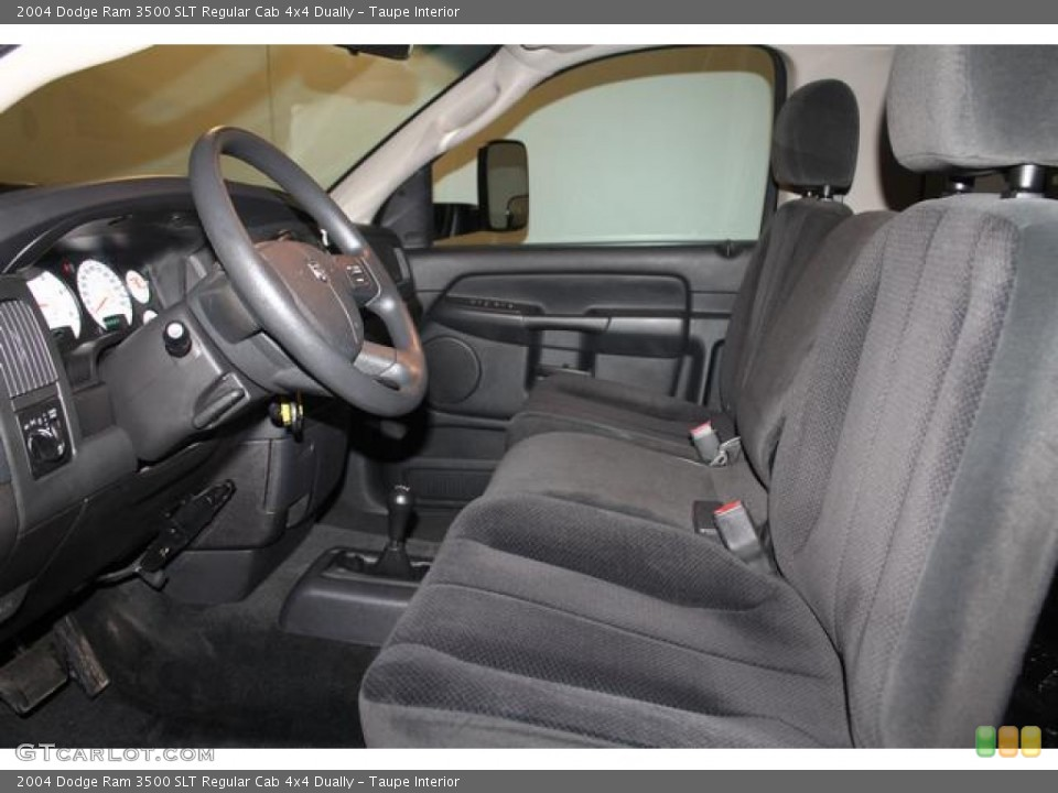 Taupe Interior Photo for the 2004 Dodge Ram 3500 SLT Regular Cab 4x4 Dually #80832951