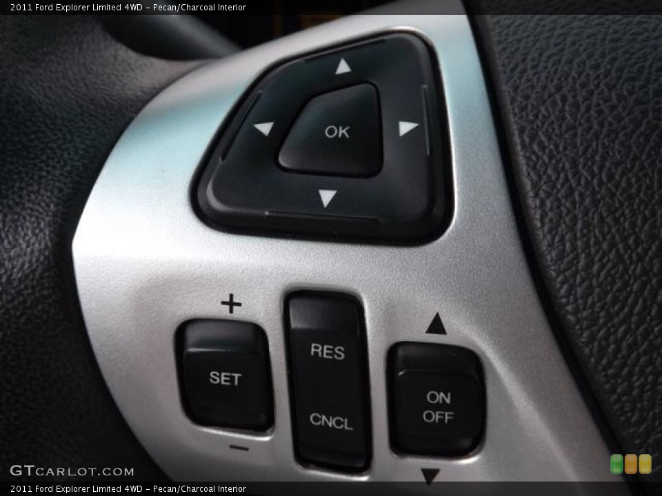 Pecan/Charcoal Interior Controls for the 2011 Ford Explorer Limited 4WD #80845537