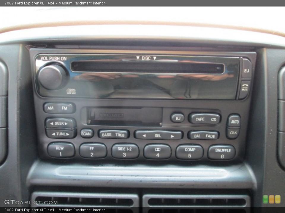 Medium Parchment Interior Audio System for the 2002 Ford Explorer XLT 4x4 #80856393