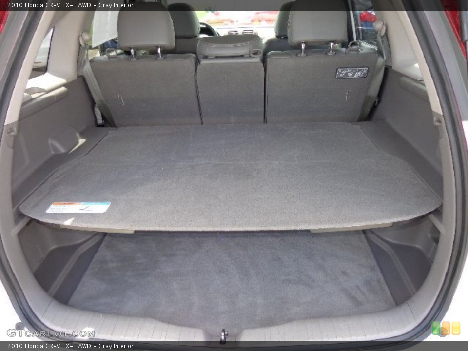 Gray Interior Trunk for the 2010 Honda CR-V EX-L AWD #80871559