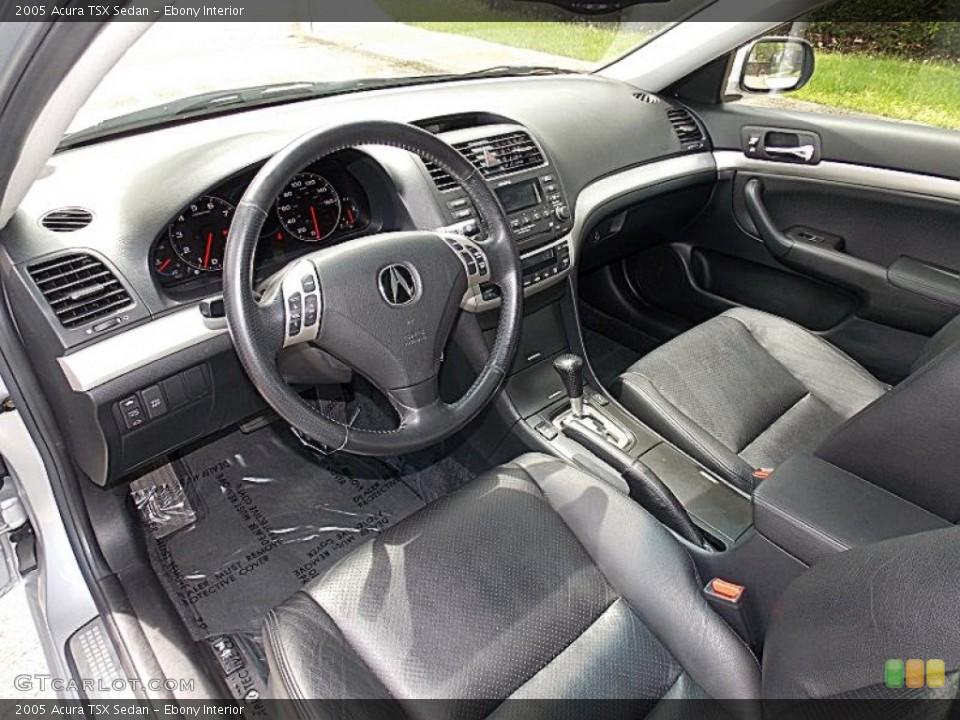 Ebony 2005 Acura TSX Interiors