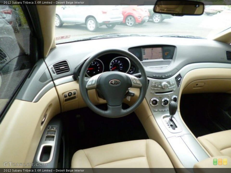 Desert Beige Interior Dashboard for the 2012 Subaru Tribeca 3.6R Limited #80935572
