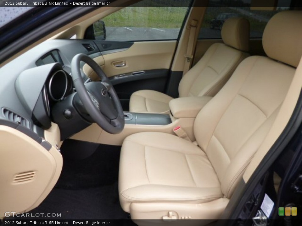 Desert Beige Interior Front Seat for the 2012 Subaru Tribeca 3.6R Limited #80935589