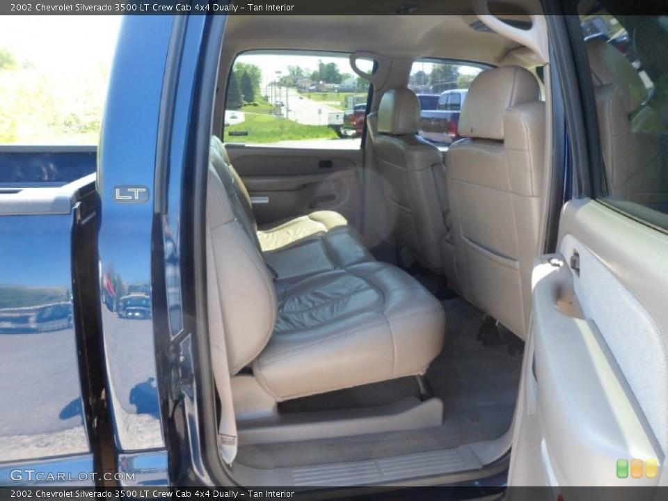 Tan 2002 Chevrolet Silverado 3500 Interiors