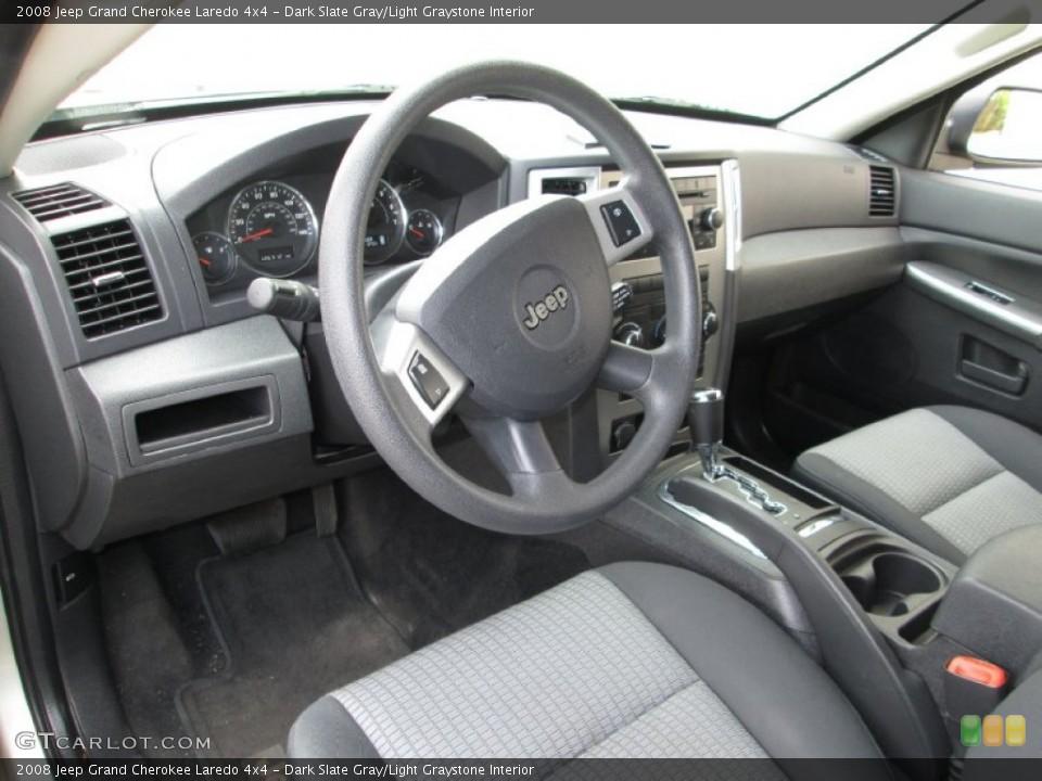 Dark Slate Gray/Light Graystone 2008 Jeep Grand Cherokee Interiors