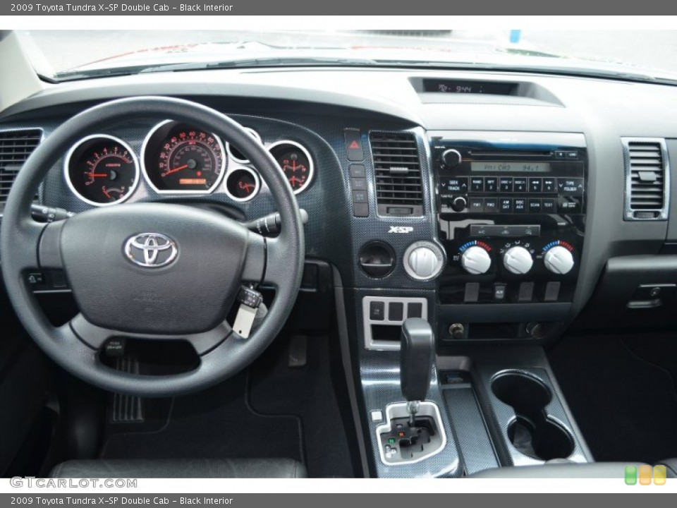 Black Interior Dashboard for the 2009 Toyota Tundra X-SP Double Cab #81284515