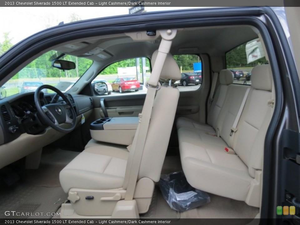 Light Cashmere/Dark Cashmere 2013 Chevrolet Silverado 1500 Interiors
