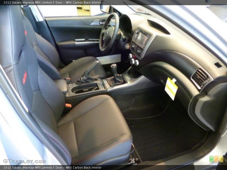WRX Carbon Black Interior Dashboard for the 2013 Subaru Impreza WRX Limited 5 Door #81905254
