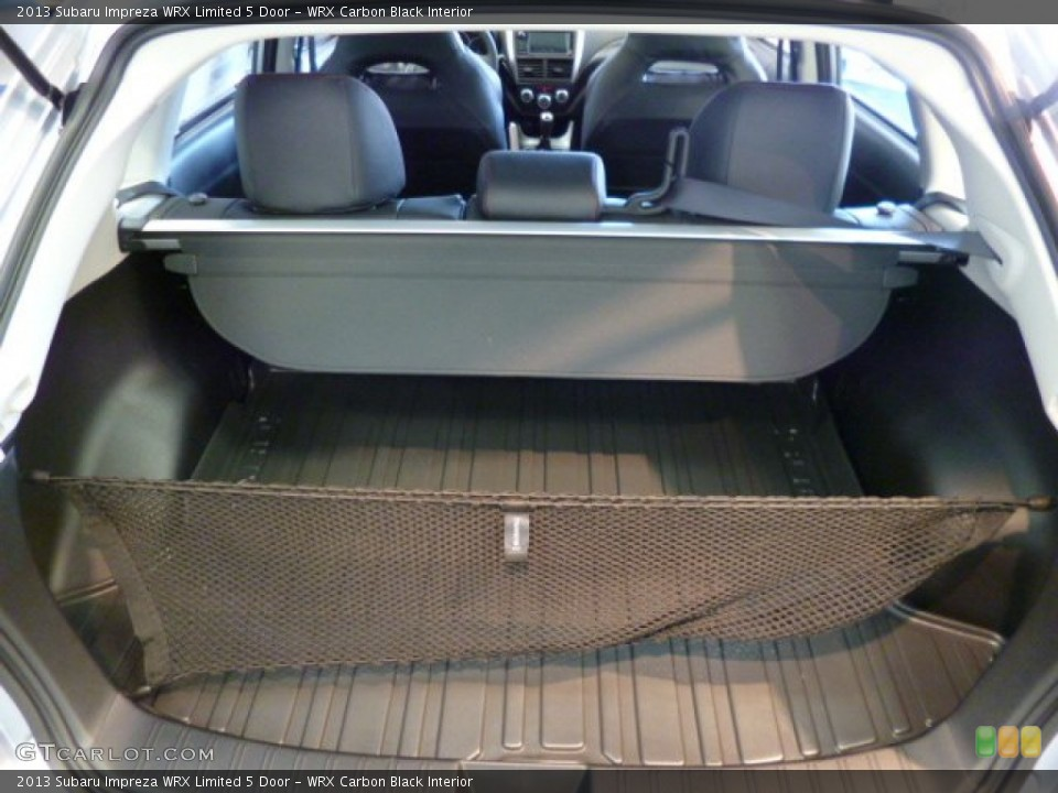 WRX Carbon Black Interior Trunk for the 2013 Subaru Impreza WRX Limited 5 Door #81905320