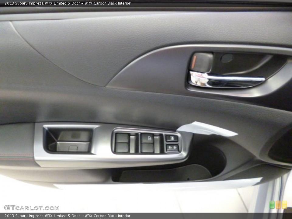 WRX Carbon Black Interior Door Panel for the 2013 Subaru Impreza WRX Limited 5 Door #81905411