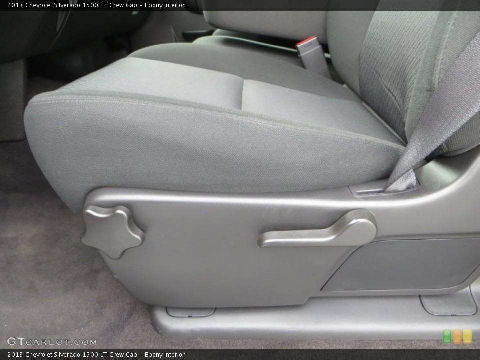 Ebony Interior Front Seat for the 2013 Chevrolet Silverado 1500 LT Crew Cab #82035944
