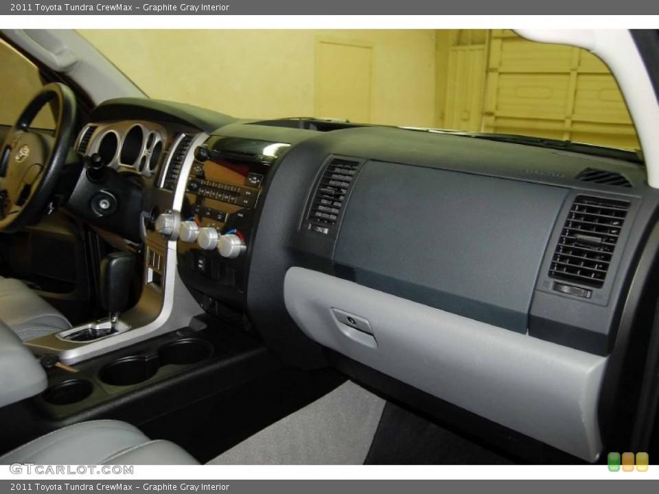 Graphite Gray Interior Dashboard for the 2011 Toyota Tundra CrewMax #82090433