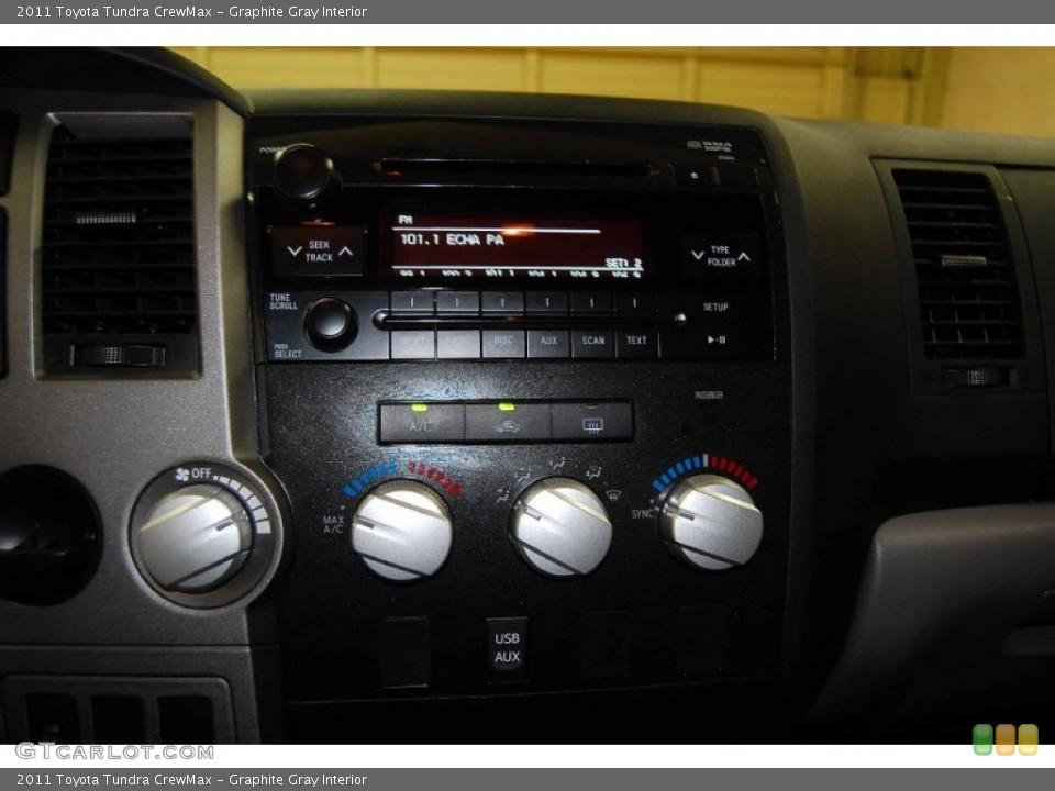 Graphite Gray Interior Controls for the 2011 Toyota Tundra CrewMax #82090471