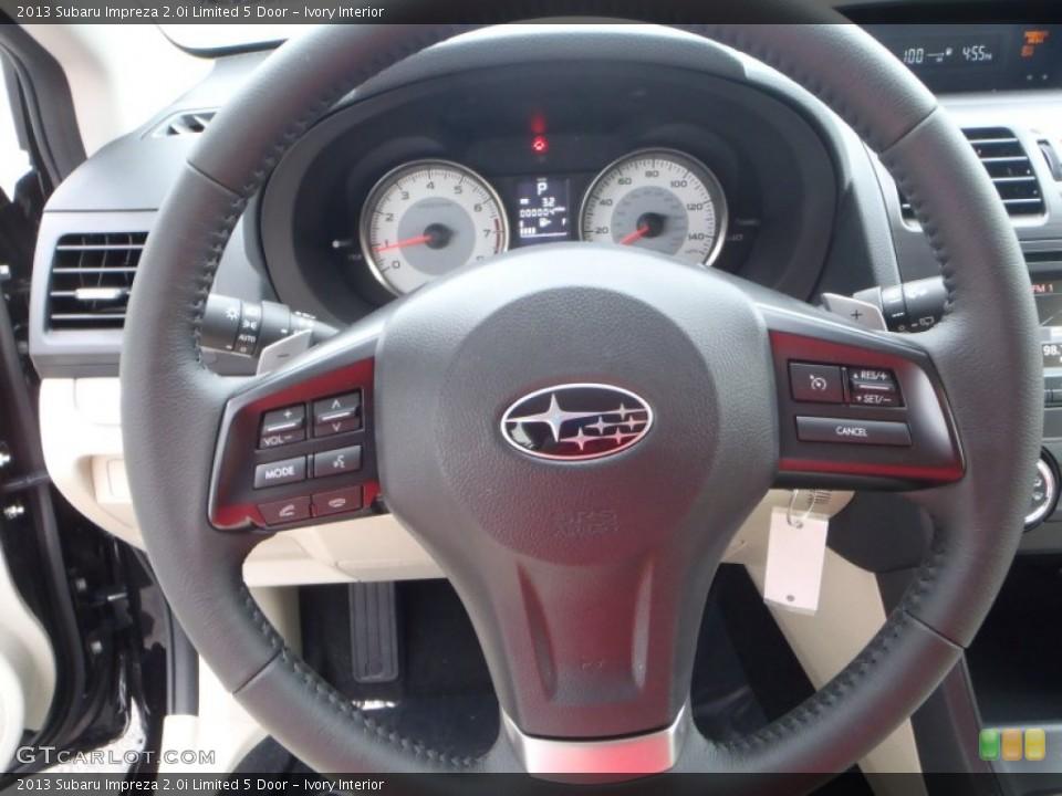 Ivory Interior Steering Wheel for the 2013 Subaru Impreza 2.0i Limited 5 Door #82101679