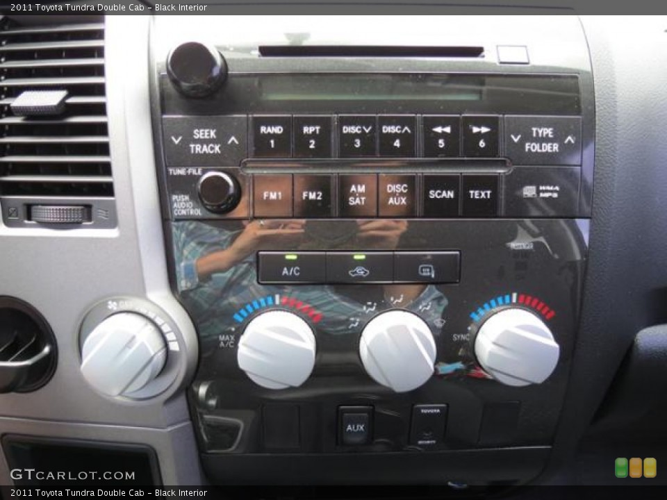 Black Interior Controls for the 2011 Toyota Tundra Double Cab #82118707