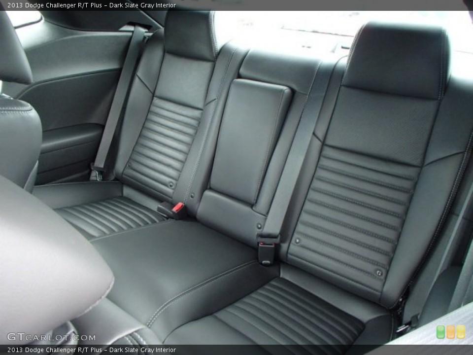 Dark Slate Gray Interior Rear Seat for the 2013 Dodge Challenger R/T Plus #82136362