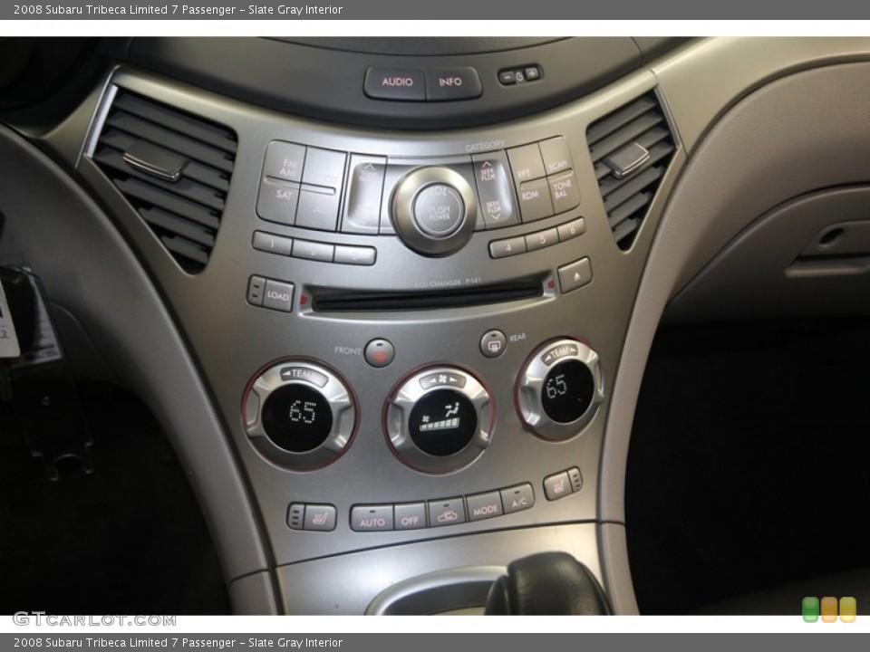 Slate Gray Interior Controls for the 2008 Subaru Tribeca Limited 7 Passenger #82148328