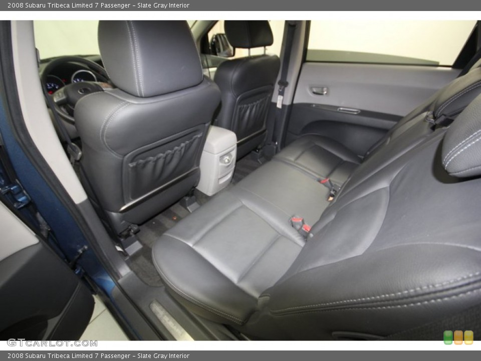 Slate Gray Interior Rear Seat for the 2008 Subaru Tribeca Limited 7 Passenger #82148456
