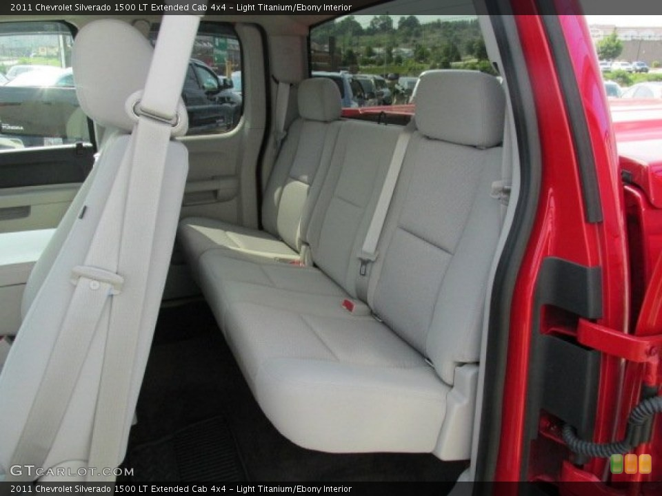 Light Titanium/Ebony Interior Rear Seat for the 2011 Chevrolet Silverado 1500 LT Extended Cab 4x4 #82246509