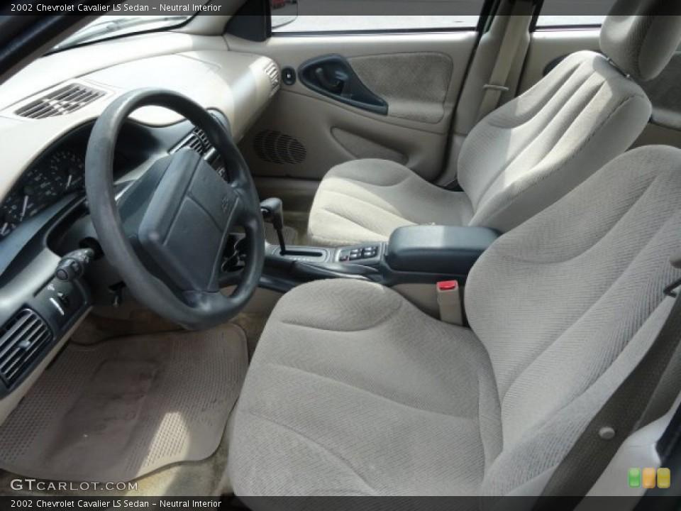 Neutral 2002 Chevrolet Cavalier Interiors