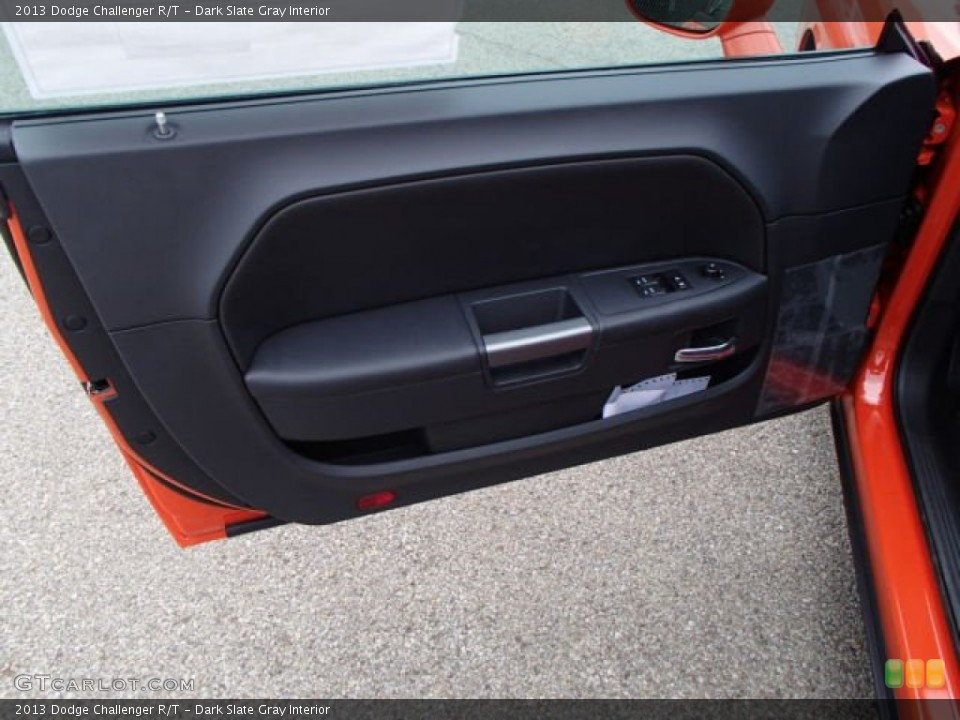 Dark Slate Gray Interior Door Panel for the 2013 Dodge Challenger R/T #82293962