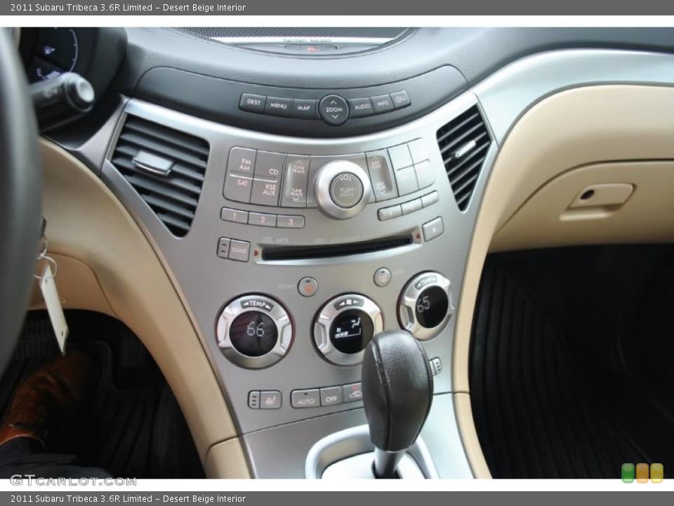 Desert Beige Interior Controls for the 2011 Subaru Tribeca 3.6R Limited #82365916