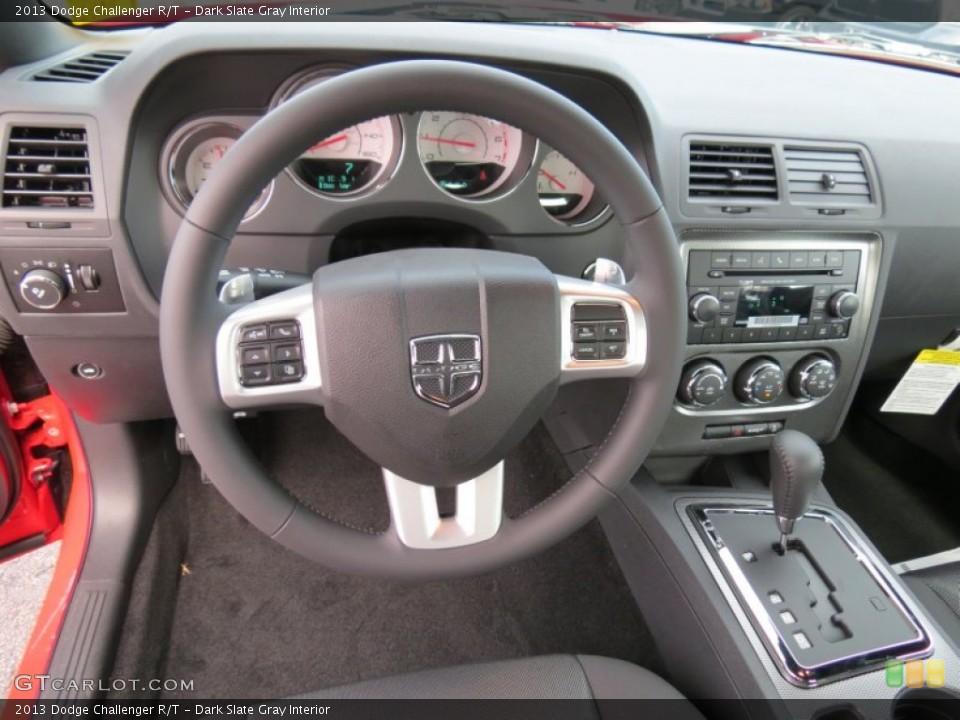 Dark Slate Gray Interior Dashboard for the 2013 Dodge Challenger R/T #82378348