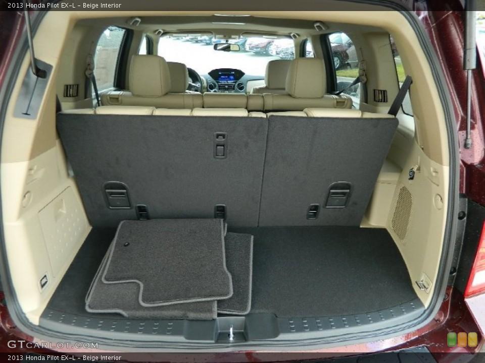 Beige Interior Trunk for the 2013 Honda Pilot EX-L #82395444