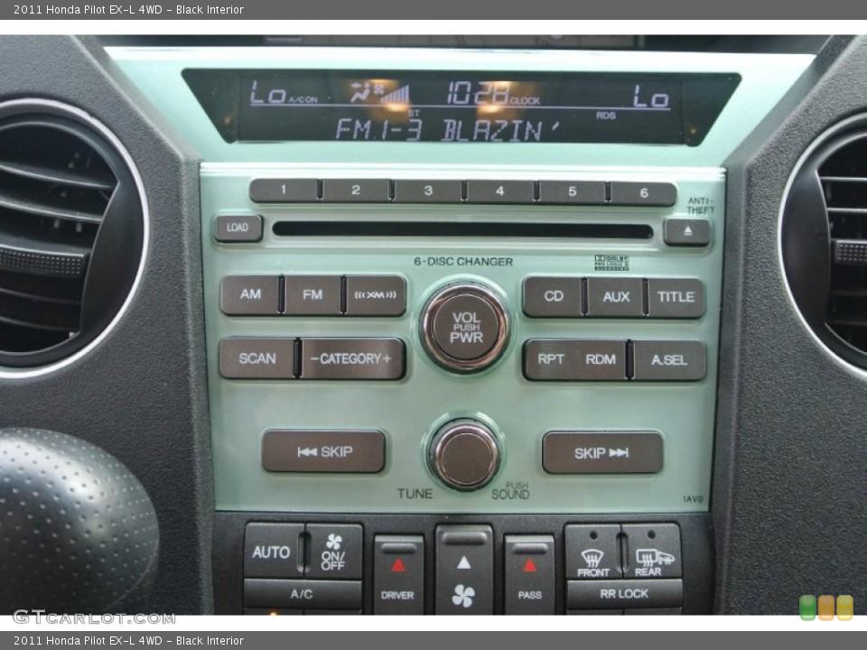 Black Interior Controls for the 2011 Honda Pilot EX-L 4WD #82421135