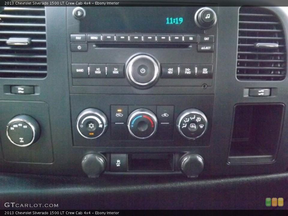 Ebony Interior Controls for the 2013 Chevrolet Silverado 1500 LT Crew Cab 4x4 #82477952