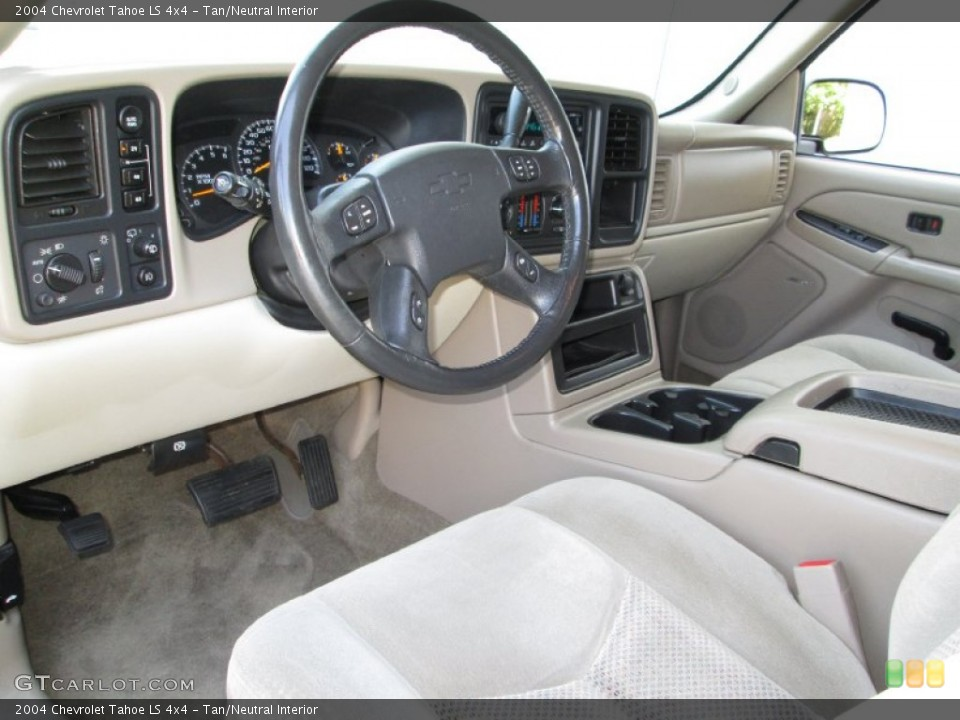 Tan/Neutral 2004 Chevrolet Tahoe Interiors