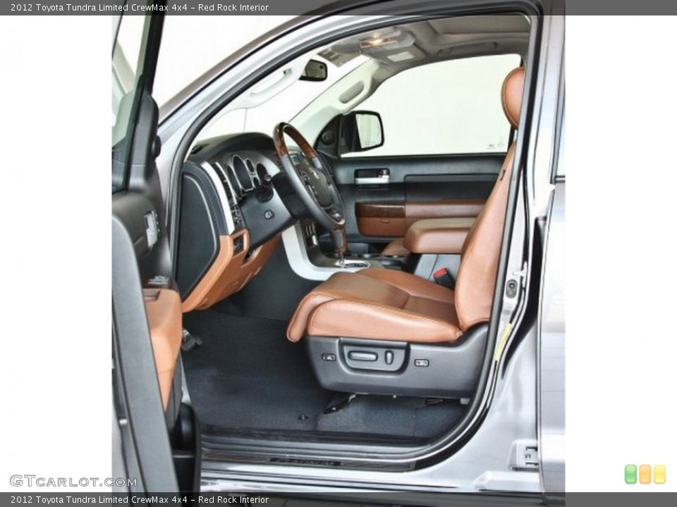 Red Rock Interior Photo for the 2012 Toyota Tundra Limited CrewMax 4x4 #82516394
