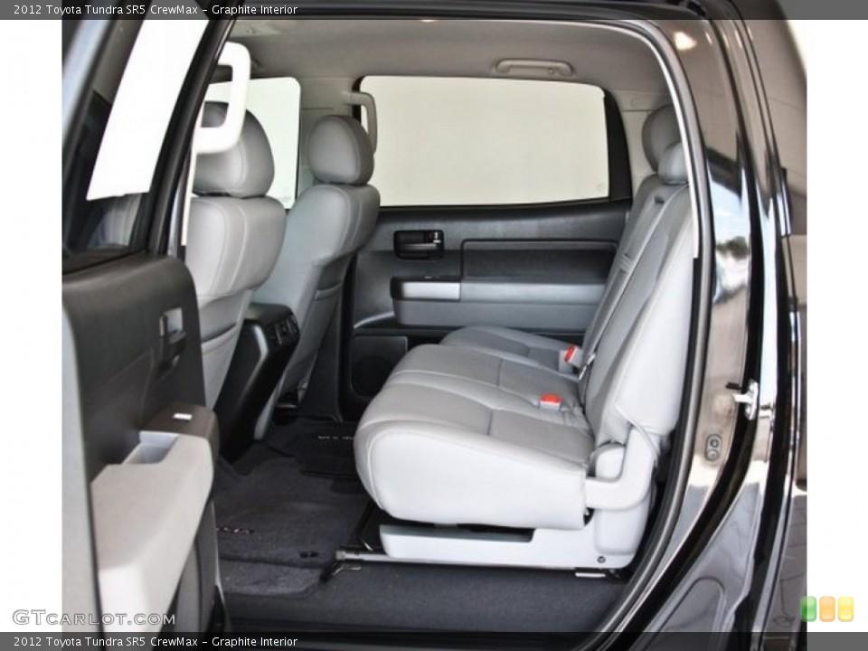 Graphite Interior Rear Seat for the 2012 Toyota Tundra SR5 CrewMax #82518970