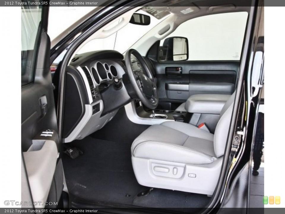 Graphite Interior Photo for the 2012 Toyota Tundra SR5 CrewMax #82518997