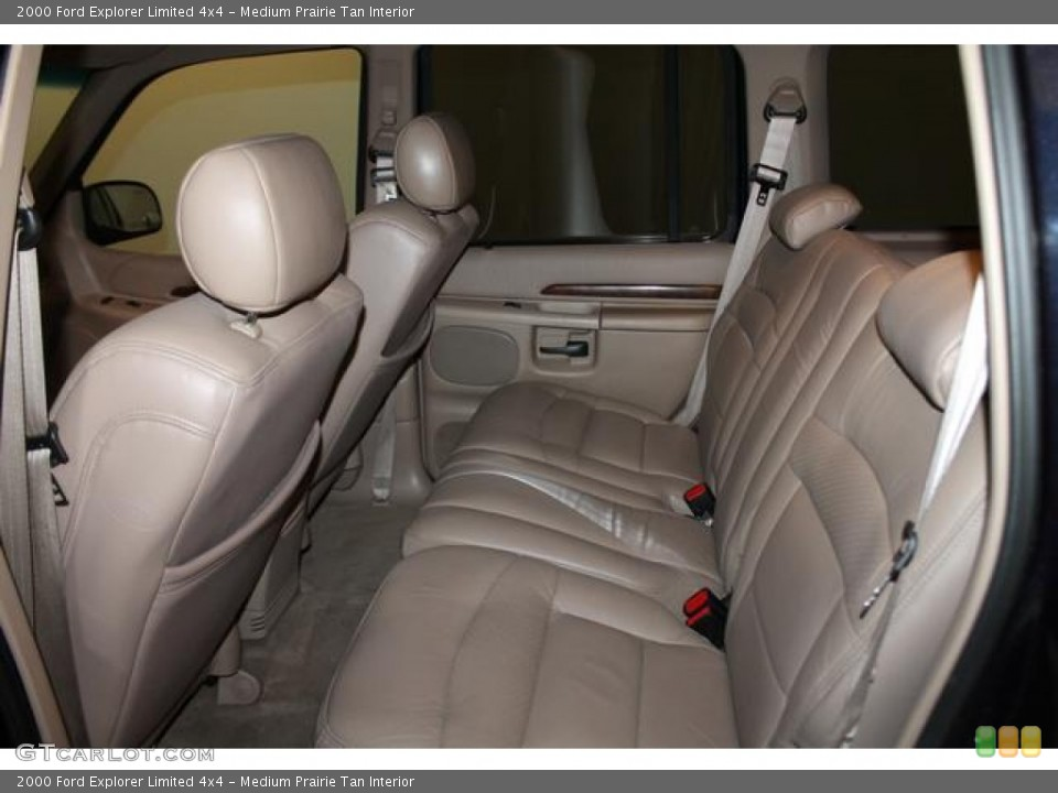 Medium Prairie Tan Interior Rear Seat for the 2000 Ford Explorer Limited 4x4 #82544666