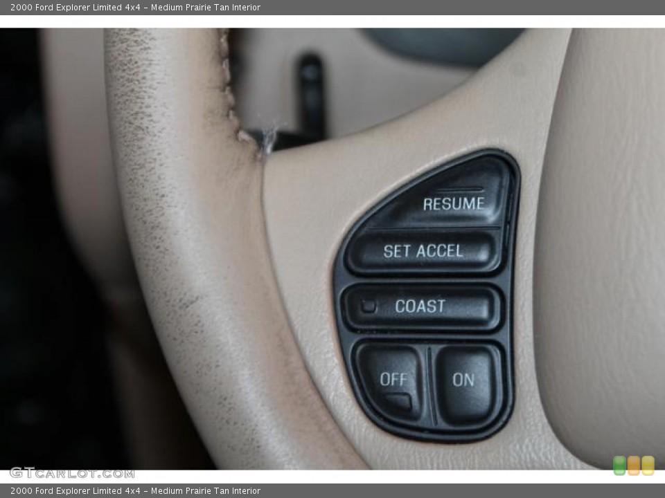 Medium Prairie Tan Interior Controls for the 2000 Ford Explorer Limited 4x4 #82544804