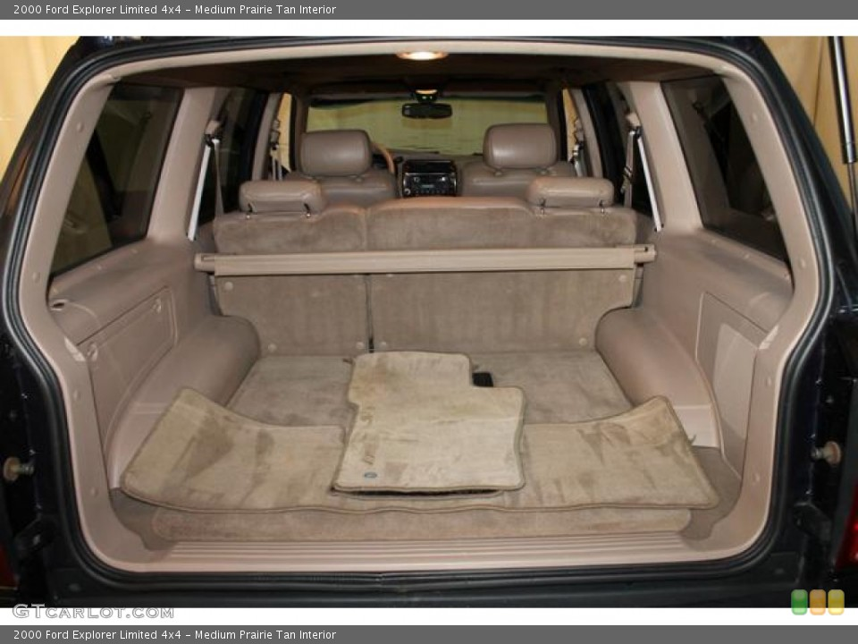 Medium Prairie Tan Interior Trunk for the 2000 Ford Explorer Limited 4x4 #82544984