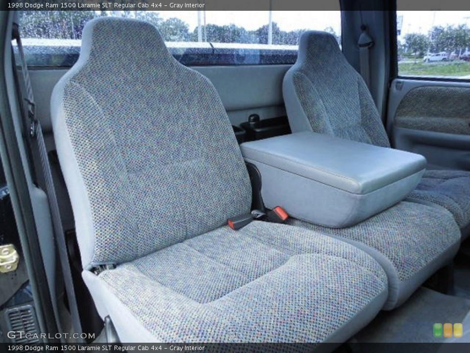 Gray 1998 Dodge Ram 1500 Interiors