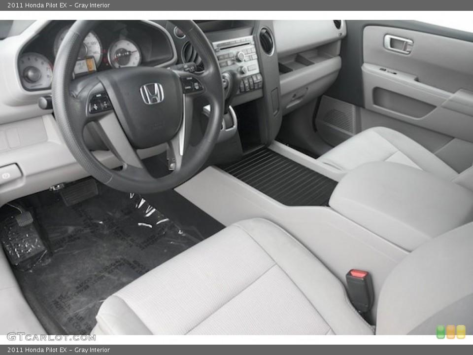 Gray Interior Prime Interior for the 2011 Honda Pilot EX #82720021