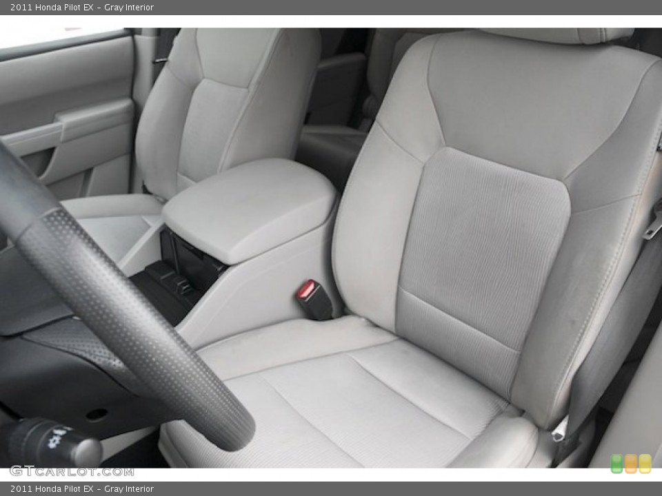 Gray Interior Front Seat for the 2011 Honda Pilot EX #82720045
