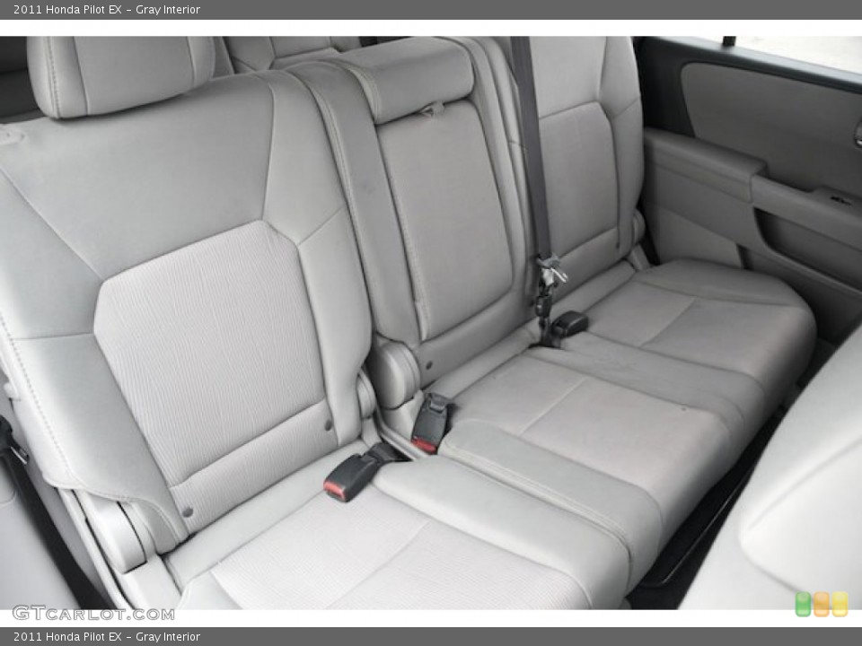 Gray Interior Rear Seat for the 2011 Honda Pilot EX #82720190