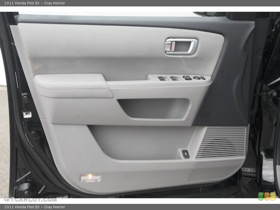 Gray Interior Door Panel for the 2011 Honda Pilot EX #82720271