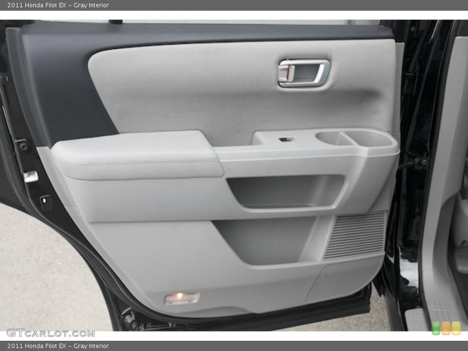 Gray Interior Door Panel for the 2011 Honda Pilot EX #82720286