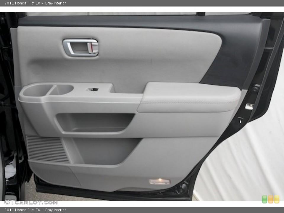 Gray Interior Door Panel for the 2011 Honda Pilot EX #82720306