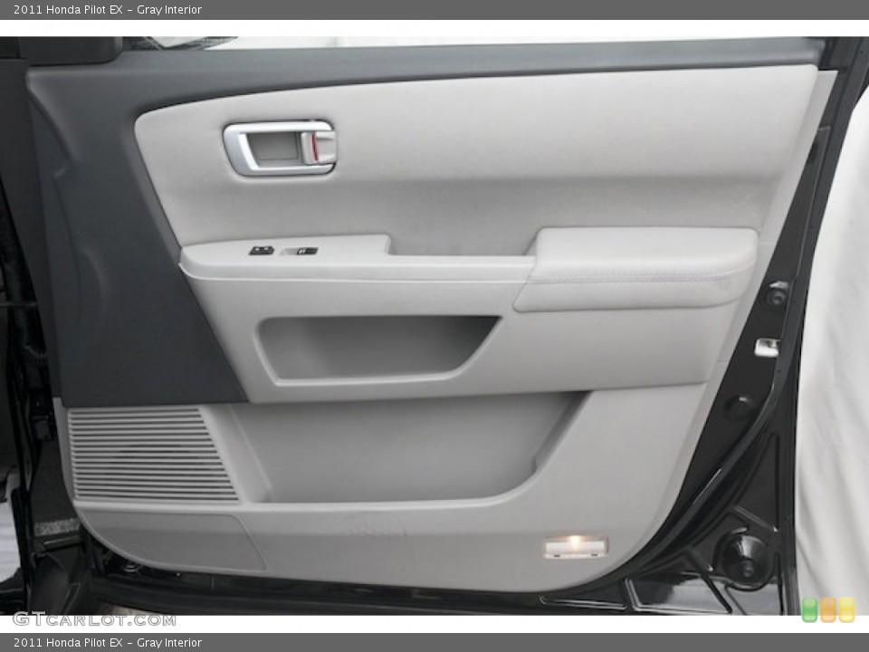 Gray Interior Door Panel for the 2011 Honda Pilot EX #82720321