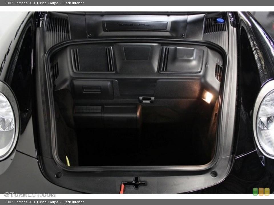 Black Interior Trunk for the 2007 Porsche 911 Turbo Coupe #82776727
