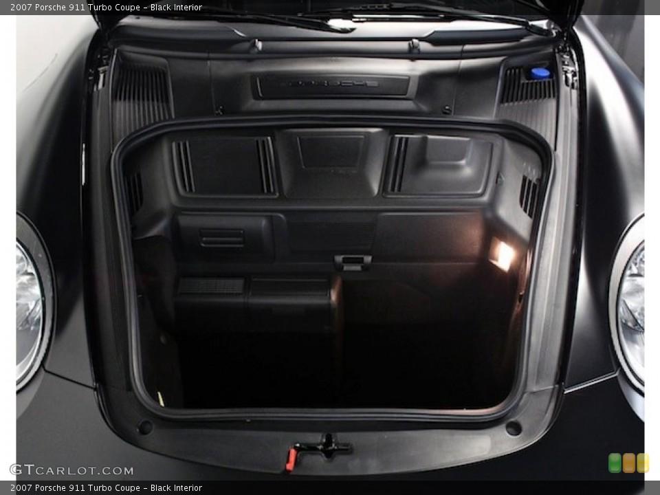 Black Interior Trunk for the 2007 Porsche 911 Turbo Coupe #82777901