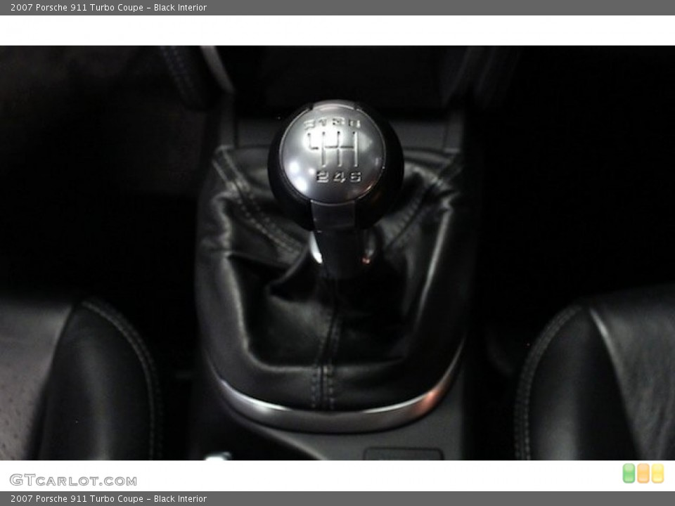 Black Interior Transmission for the 2007 Porsche 911 Turbo Coupe #82778467